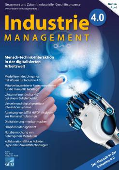 Mensch-Technik-Interaktion in der digitalisierten Arbeitswelt  (Industrie 4.0 Management 3/2021)