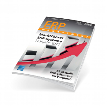ERP market guide ''65 current ERP solutions in comparison'' Spring Edition I/2020