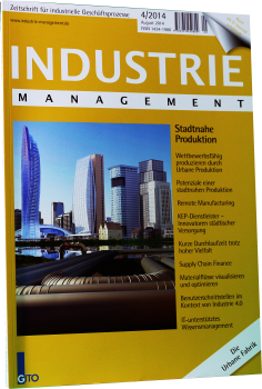 Stadtnahe Produktion (Industrie Management 4/2014)
