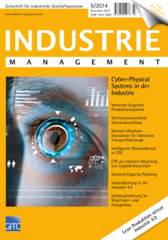 Cyber-Physical Systems in der Industrie (Industrie Management 6/2014)
