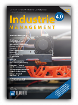 Additive Fertigung (Industrie 4.0 Management 5/2016)