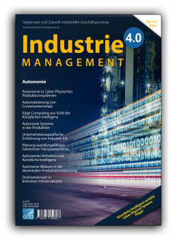 Autonomie (Industrie 4.0 Management 6/2018)