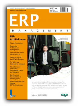 ERP-Architekturen (ERP Management 1/2010)