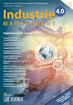 Digitalisierung der Logistik (Industrie 4.0 Management 5/2018)