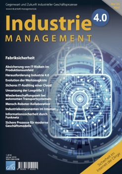 Fabriksicherheit (Industrie 4.0 Management 1/2018)