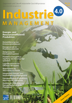 Energie- und Ressourceneffiziente Produktion   (Industrie 4.0 Management 1/2017)