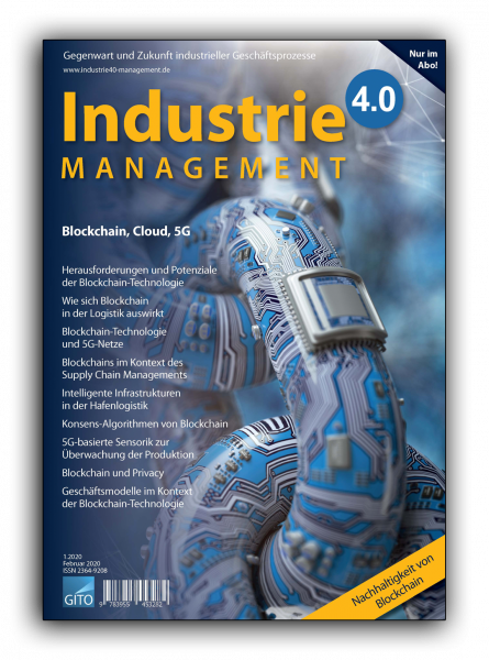 Blockchain, Cloud, 5G (Industrie 4.0 Management 1/2020)