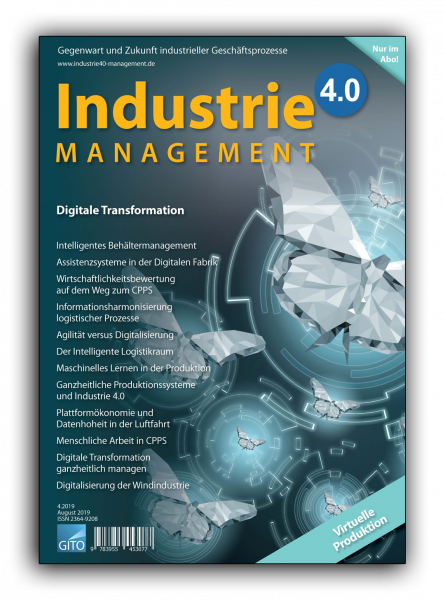 Digitale Transformation (Industrie 4.0 Management 4/2019)