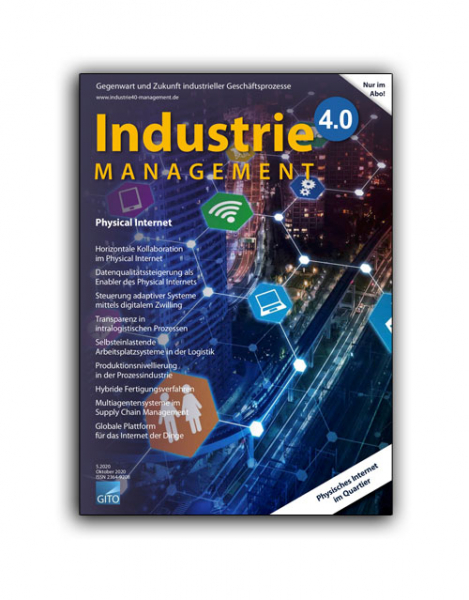 Physical Internet (Industrie 4.0 Management 5/2020)
