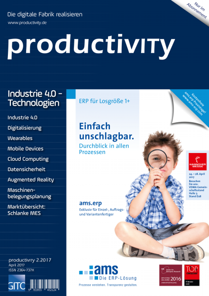 Industrie 4.0-Technologien (productivity 2/2017)